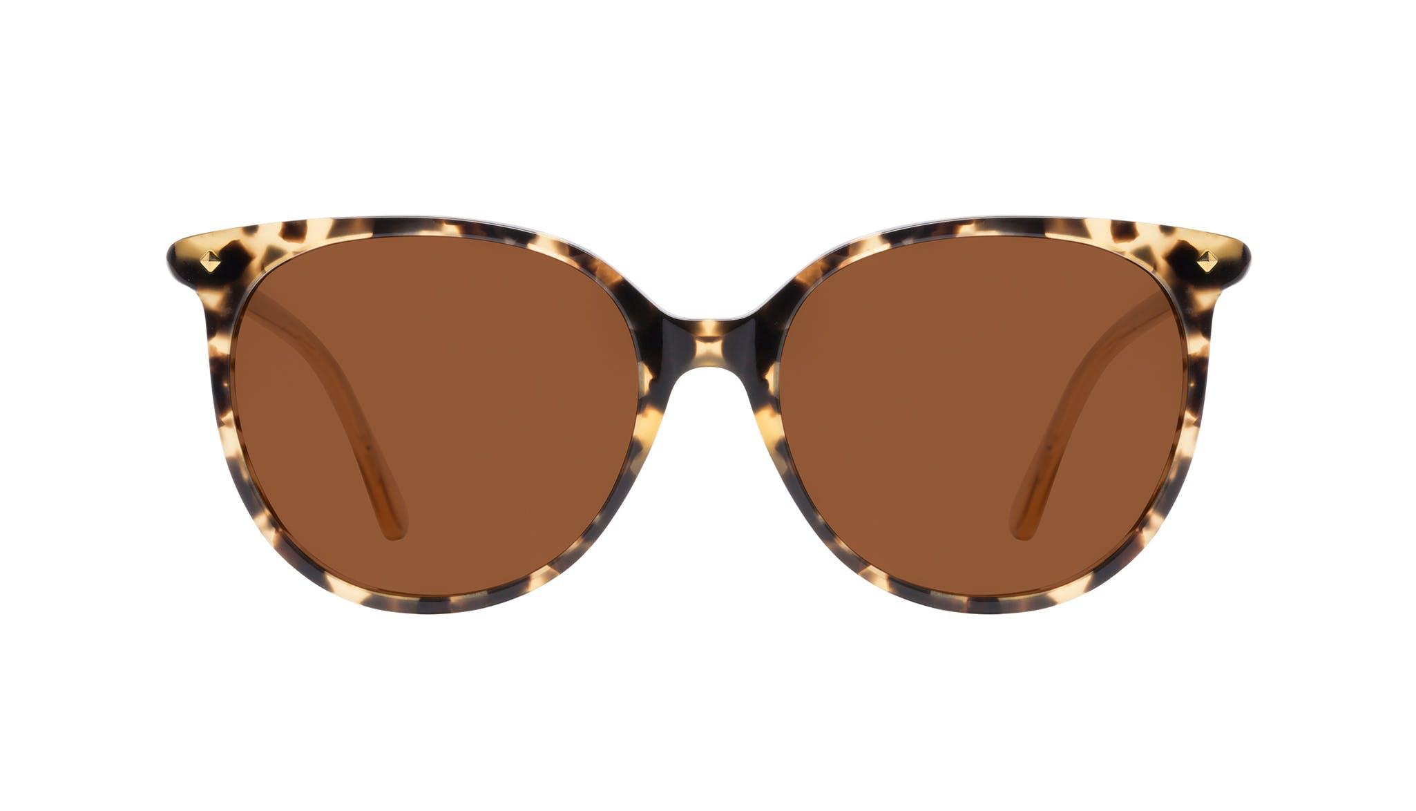 Affordable Fashion Glasses Round Sunglasses Women Area Petite Bingal Front