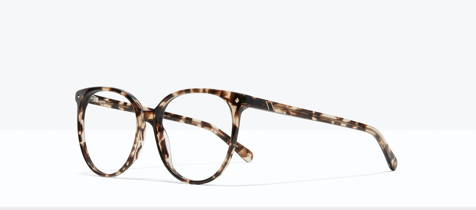 Affordable Fashion Glasses Round Eyeglasses Women Area L Leopard Tilt
