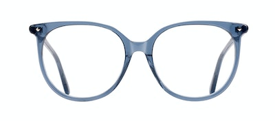 Affordable Fashion Glasses Round Eyeglasses Women Area Midnight  Front