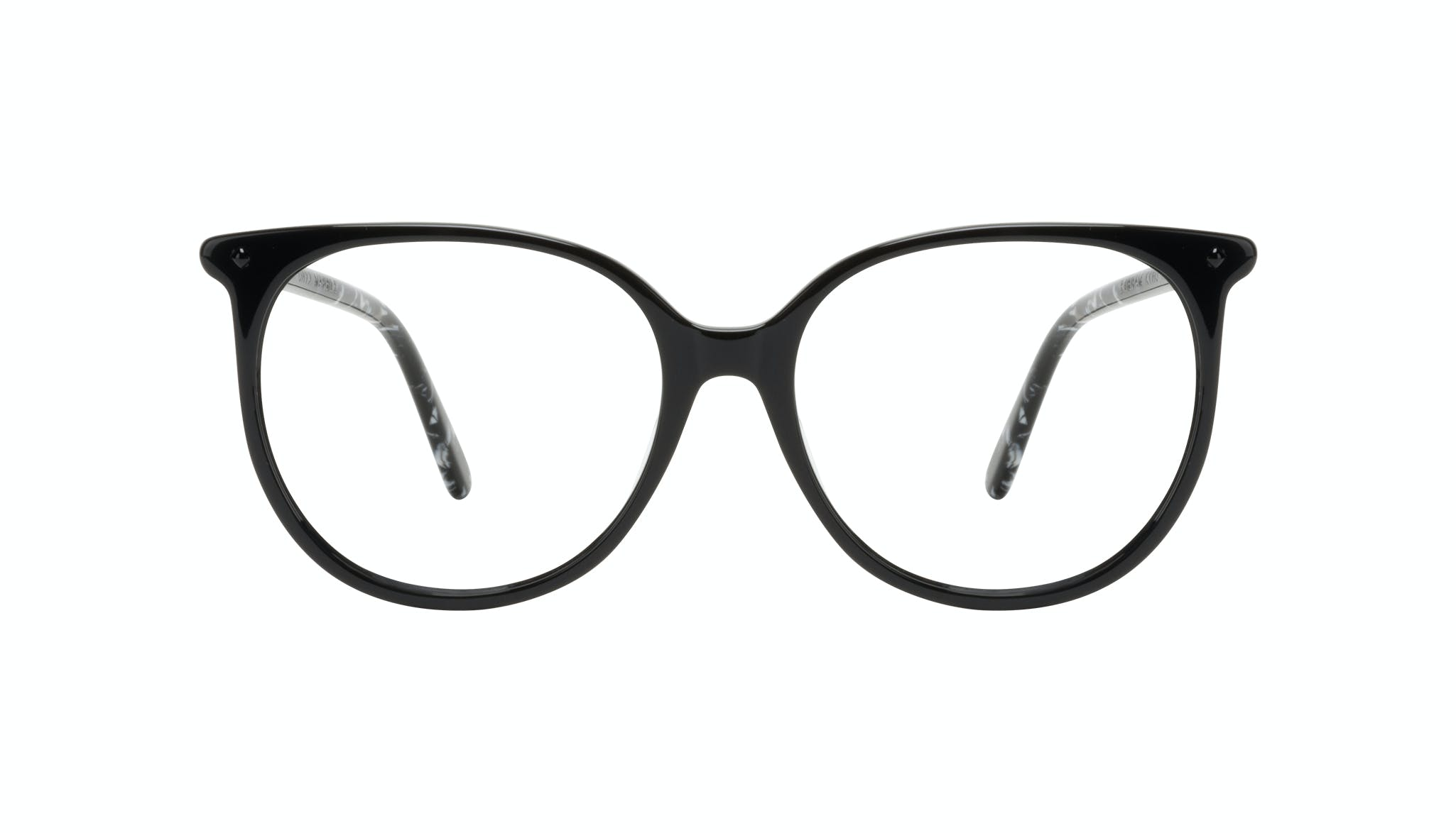 Affordable Fashion Glasses Round Eyeglasses Women Area Onyx Marble Front
