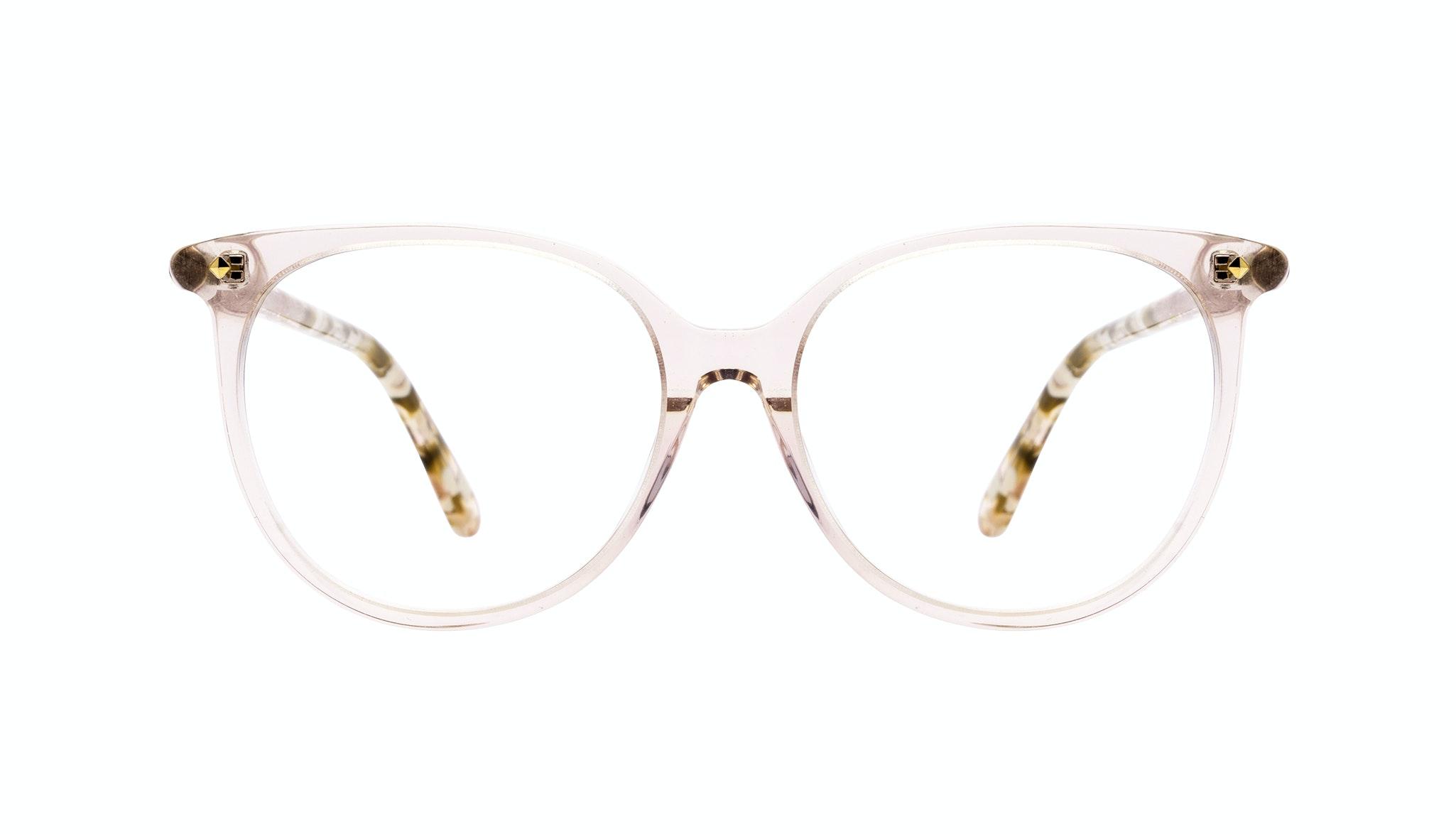 Affordable Fashion Glasses Round Eyeglasses Women Area Petite Rose Front