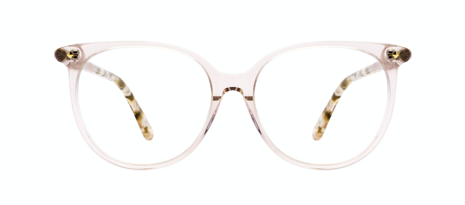Affordable Fashion Glasses Round Eyeglasses Women Area Petite Rose Front