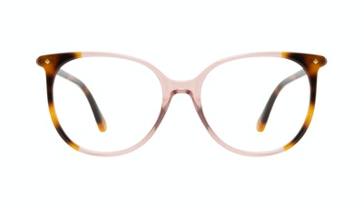 Affordable Fashion Glasses Round Eyeglasses Women Area Rose Tort Front