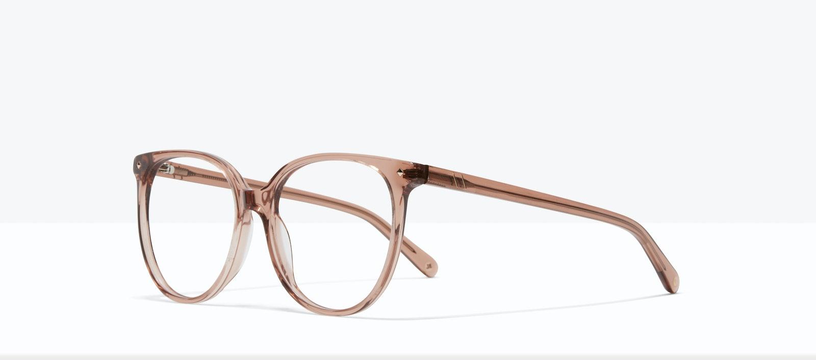 Affordable Fashion Glasses Round Eyeglasses Women Area L Rose Tilt
