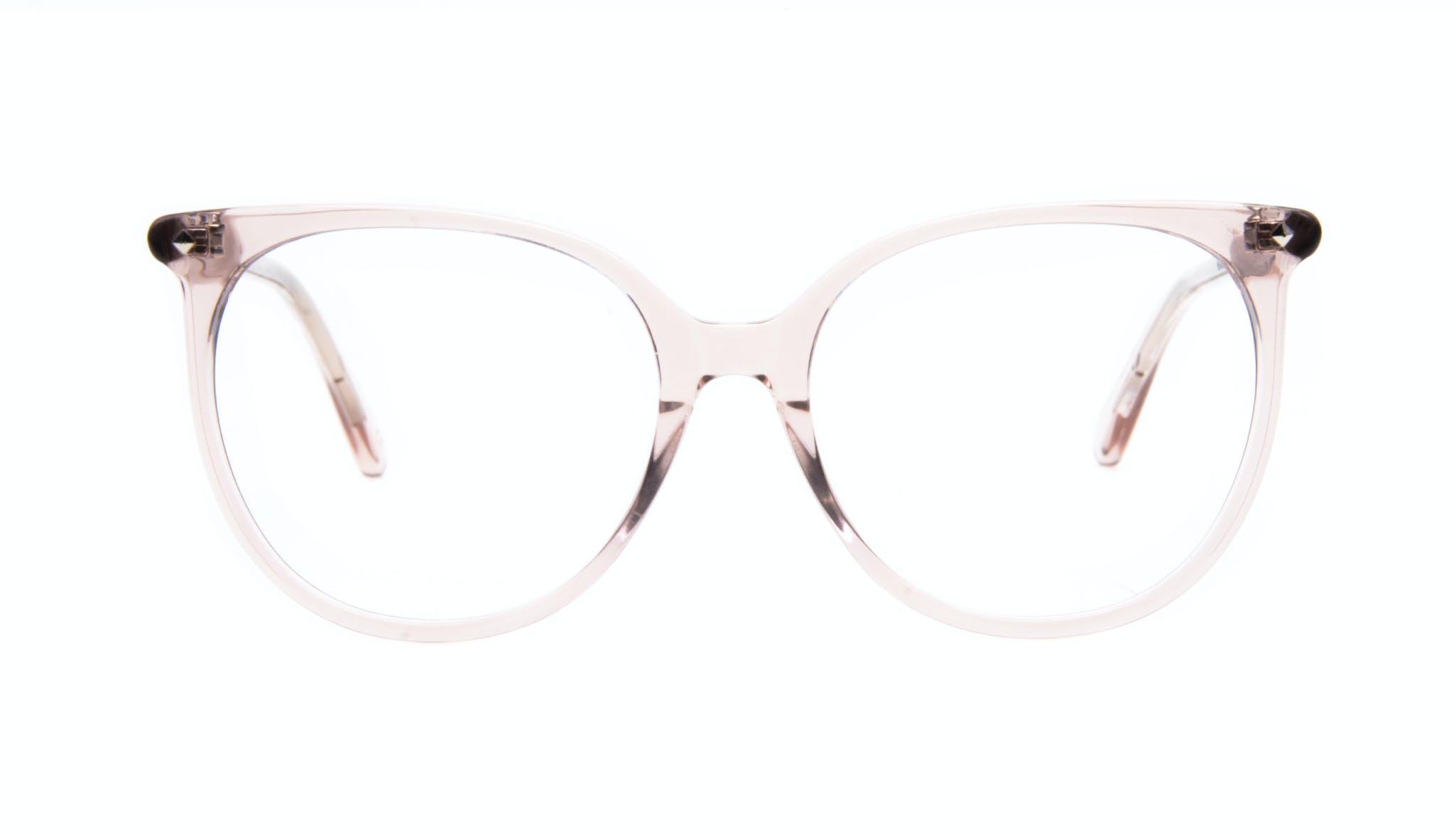 Lunettes tendance Oeil de chat Carrée Lunettes de vue Femmes Area Rose