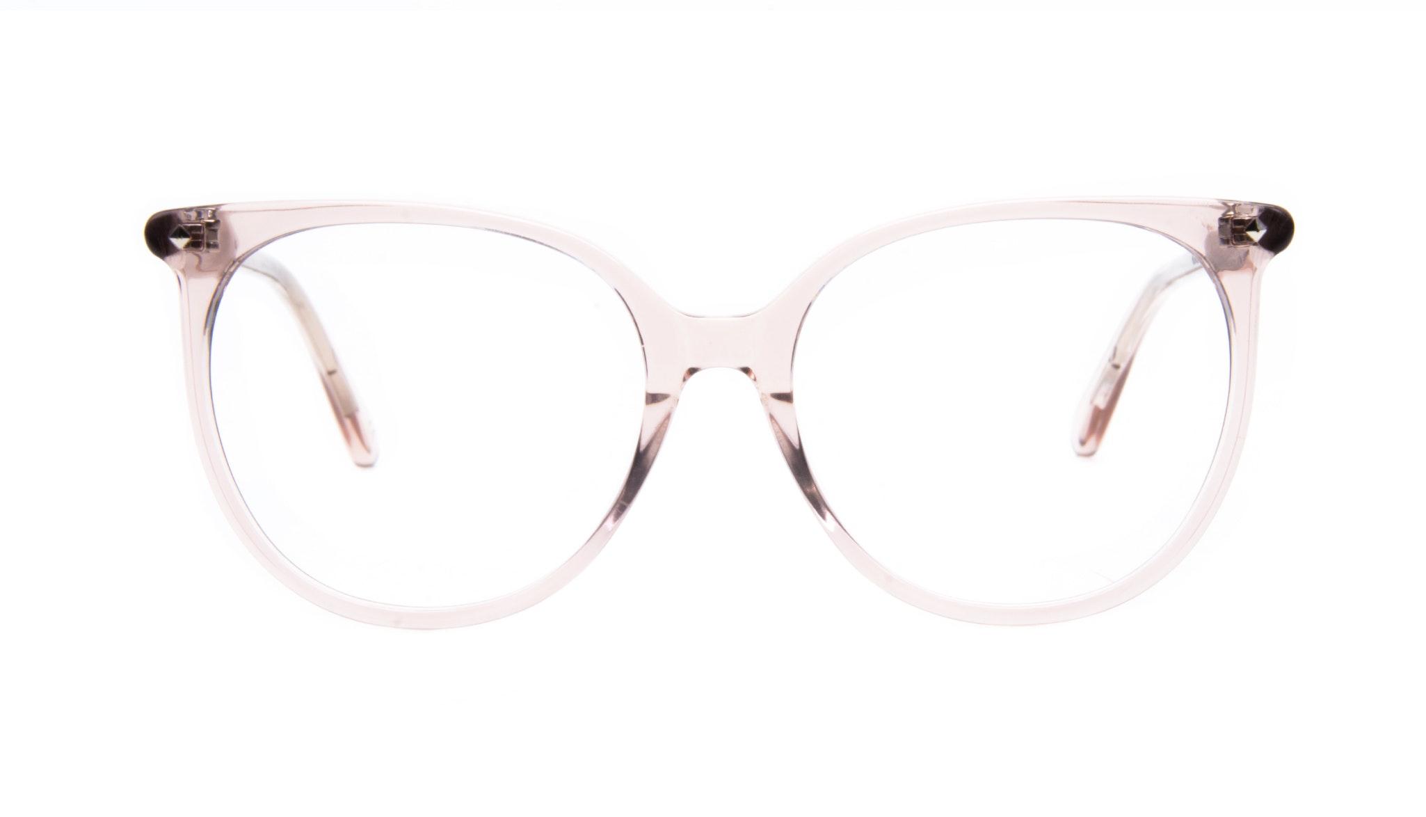 Affordable Fashion Glasses Cat Eye Square Eyeglasses Women Area Rose Front