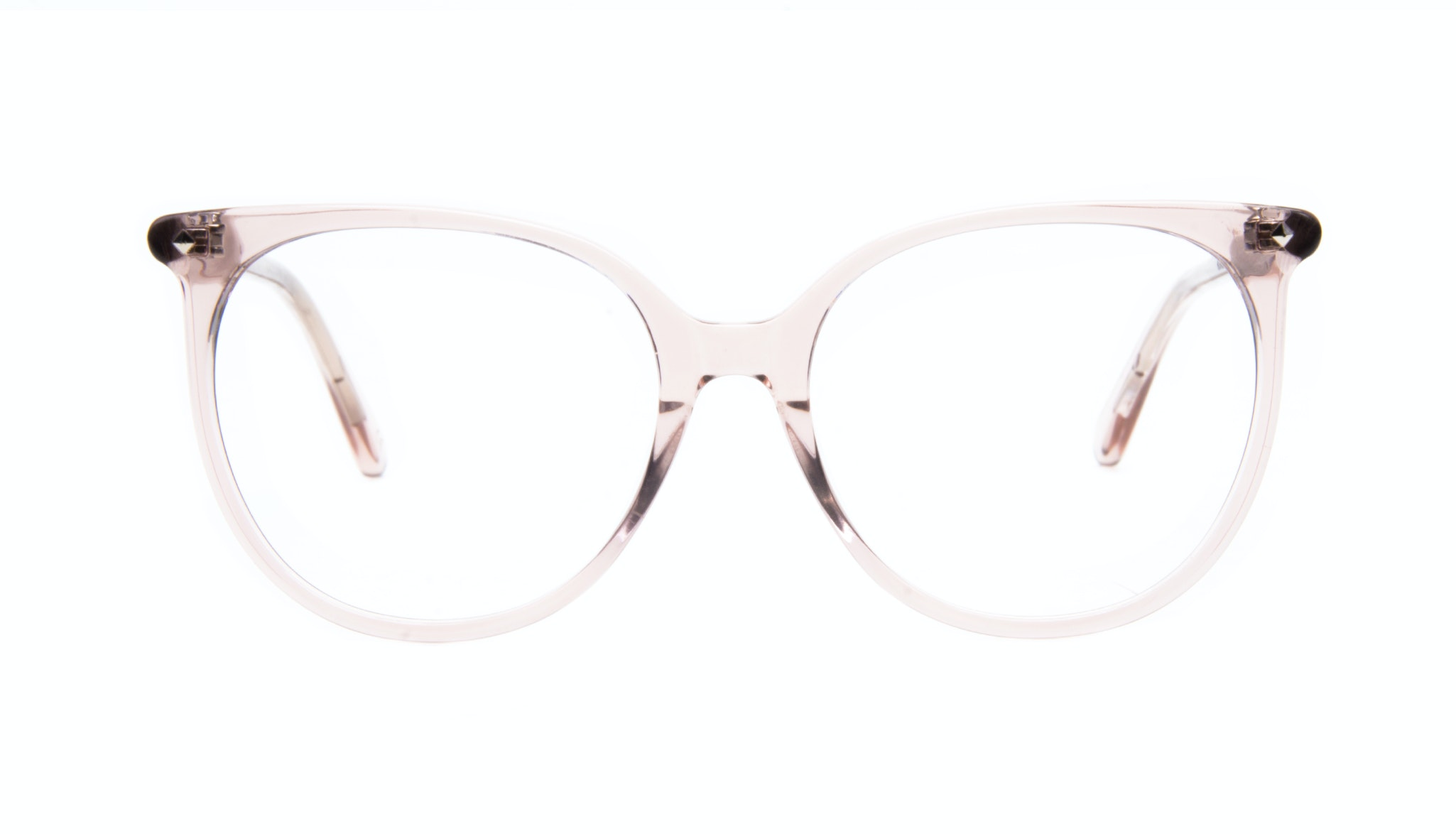 Affordable Fashion Glasses Cat Eye Square Eyeglasses Women Area Rose Front