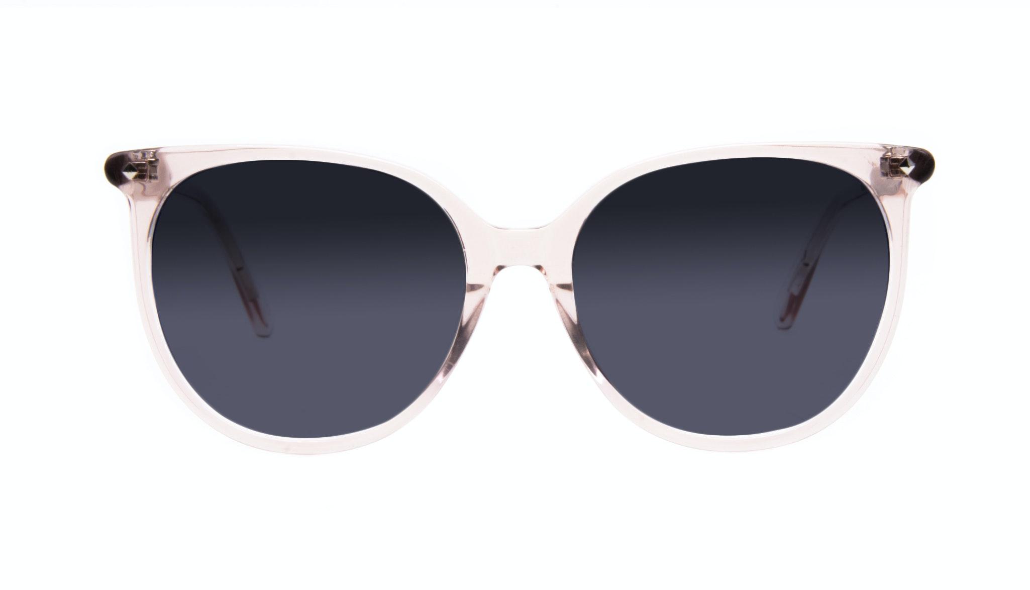 Affordable Fashion Glasses Cat Eye Square Sunglasses Women Area Rose