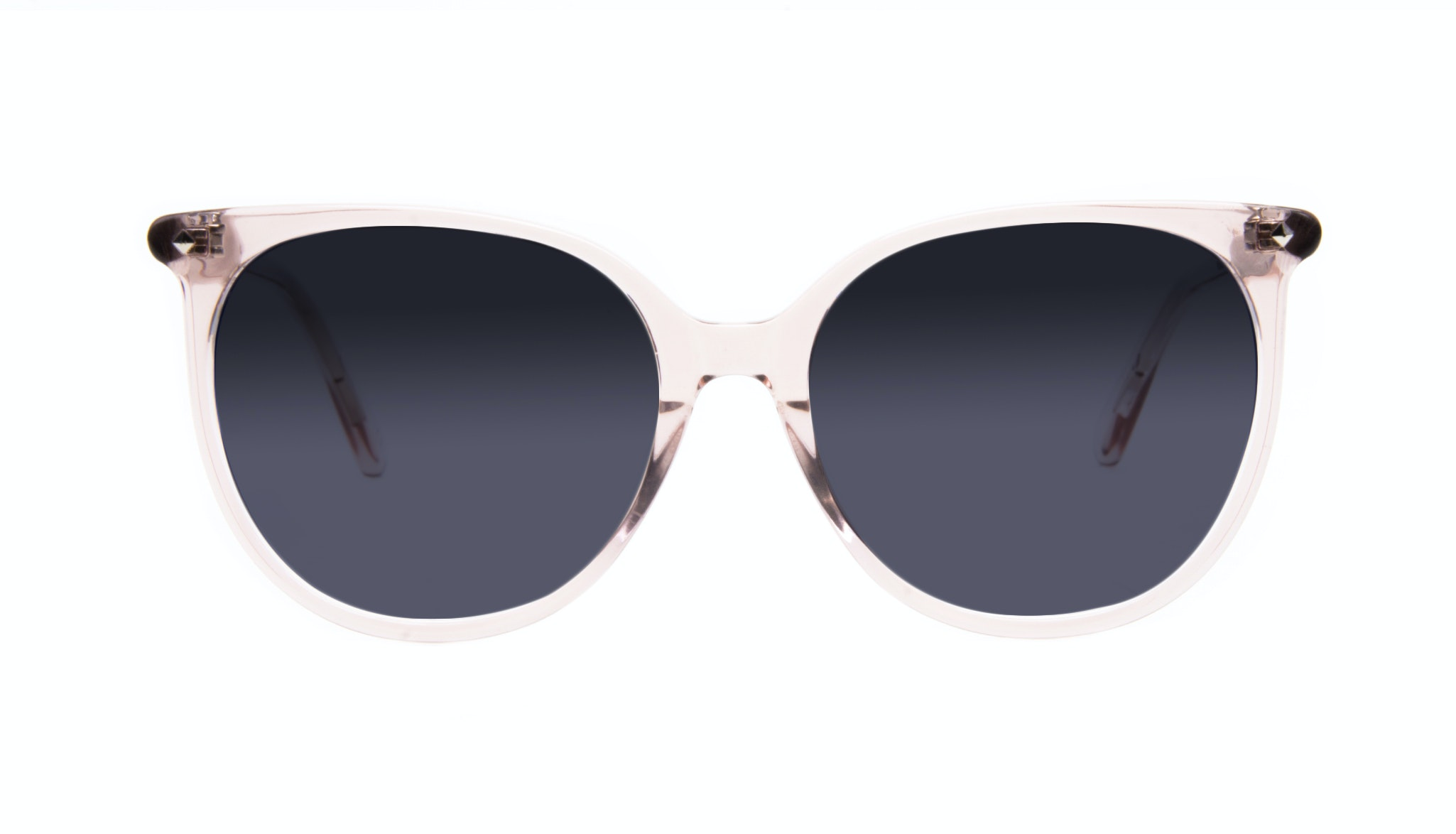 Affordable Fashion Glasses Cat Eye Square Sunglasses Women Area Rose Front