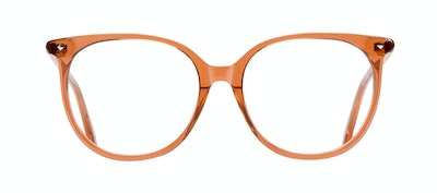 Affordable Fashion Glasses Round Eyeglasses Women Area Umber Front