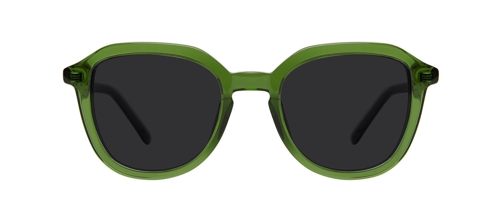 Lunettes tendance Carrée Lunettes de soleil Enfants Art Junior Green Stone Face
