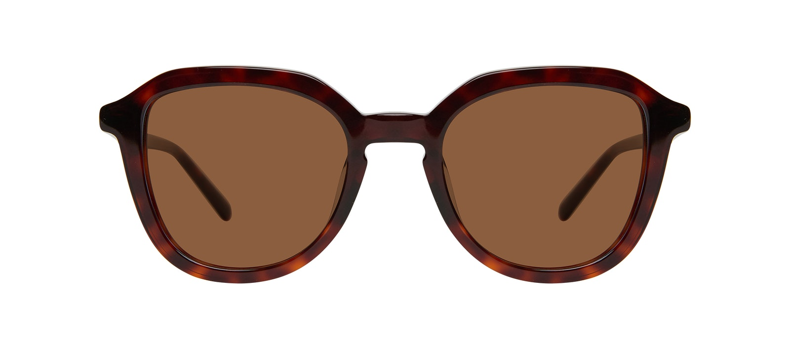 Affordable Fashion Glasses Square Sunglasses Kids Art Junior Tortoise Front