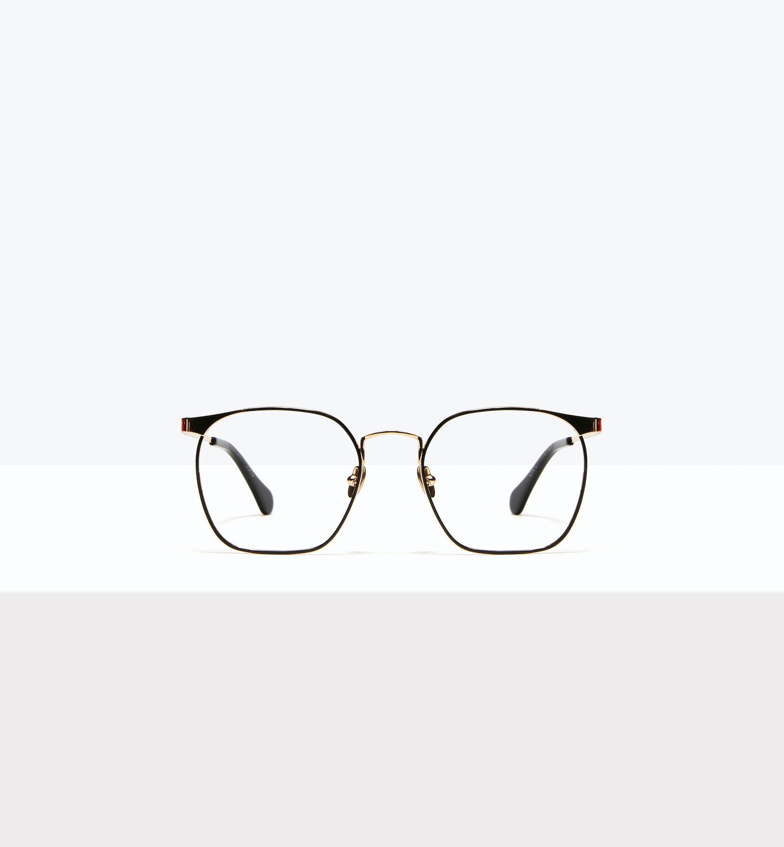 Affordable Fashion Glasses Square Eyeglasses Women Artsy Deep Gold