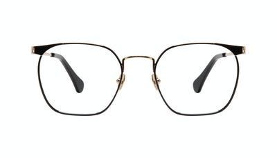 Affordable Fashion Glasses Square Eyeglasses Women Artsy Deep Gold Front