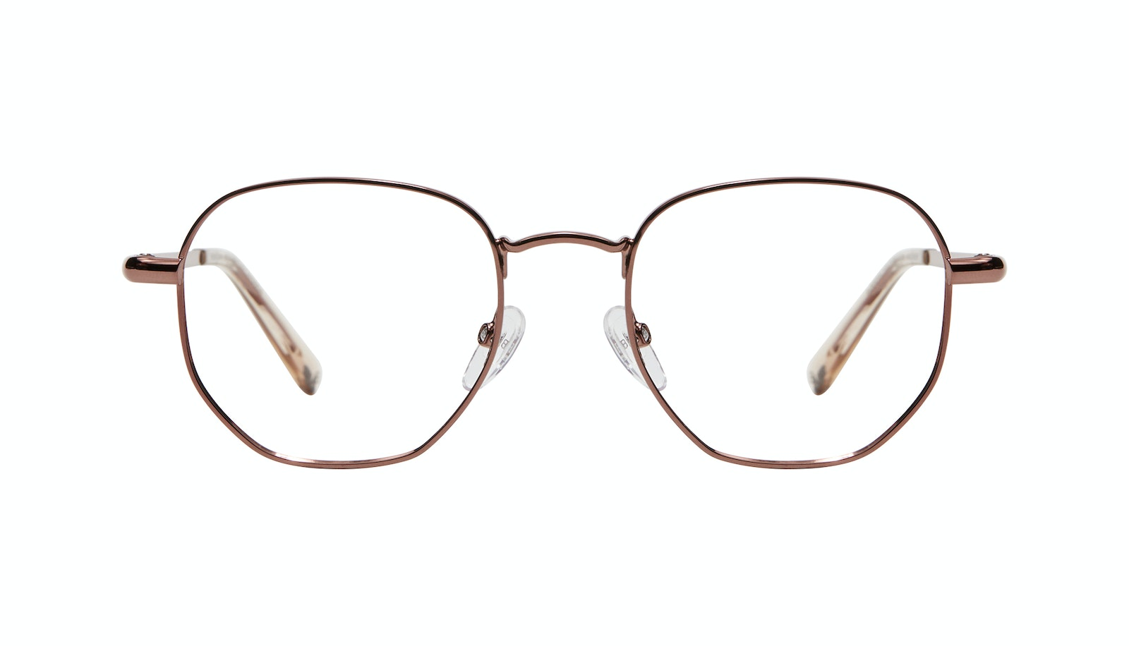 Affordable Fashion Glasses Round Eyeglasses Women Aura Copper
