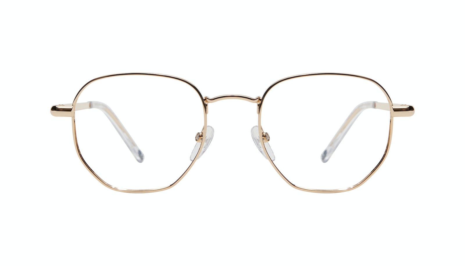 Affordable Fashion Glasses Round Eyeglasses Men Women Aura Gold