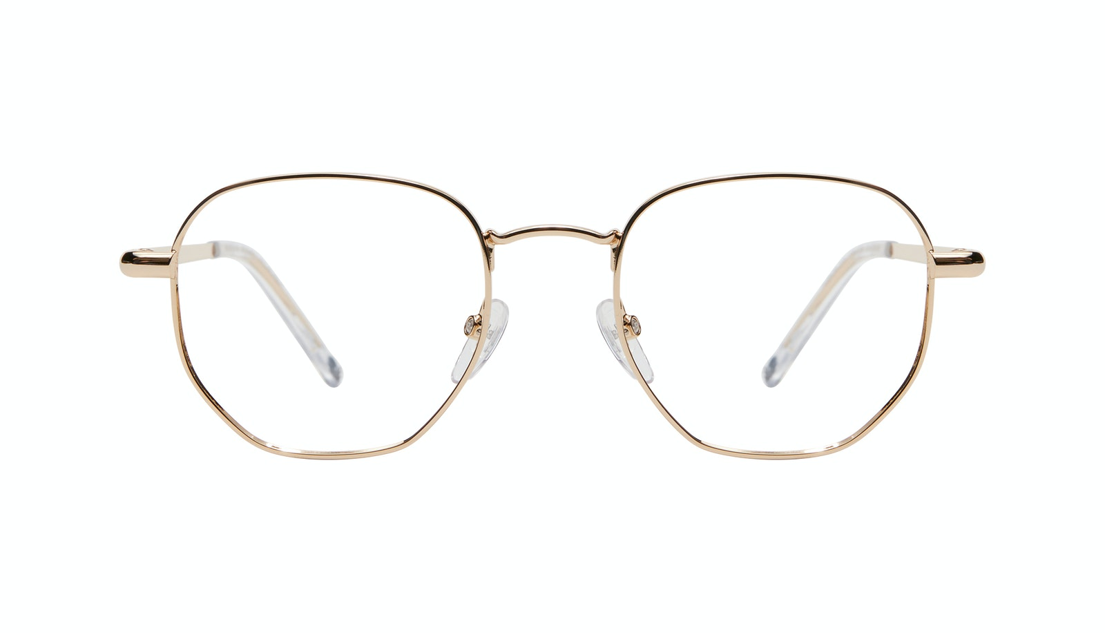 Affordable Fashion Glasses Round Eyeglasses Women Aura Gold