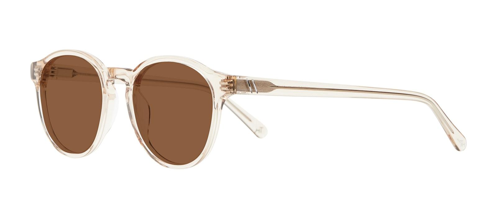 Affordable Fashion Glasses Round Sunglasses Men Aussie Clay Tilt