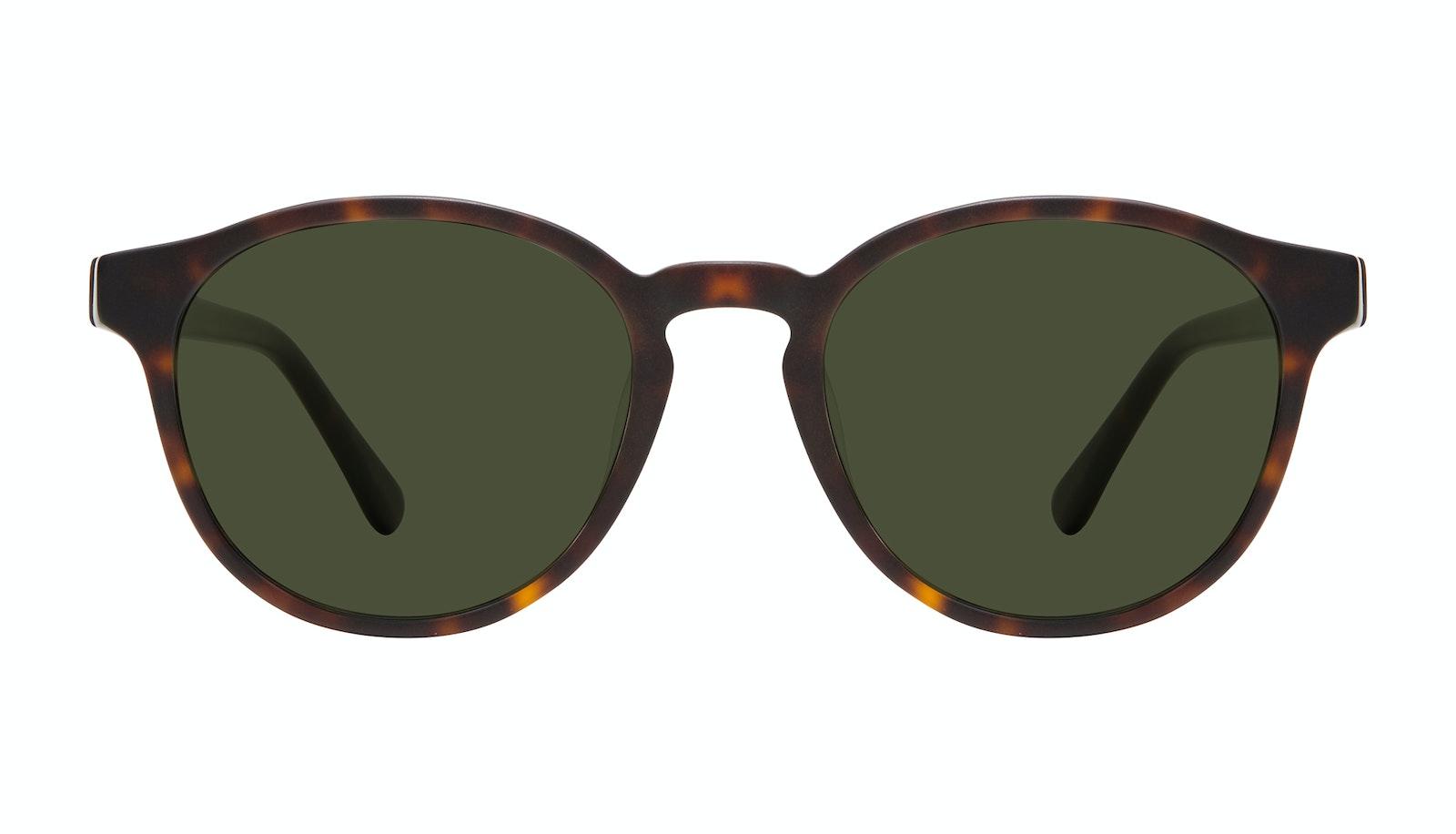 Affordable Fashion Glasses Round Sunglasses Men Aussie Matte Tortoise