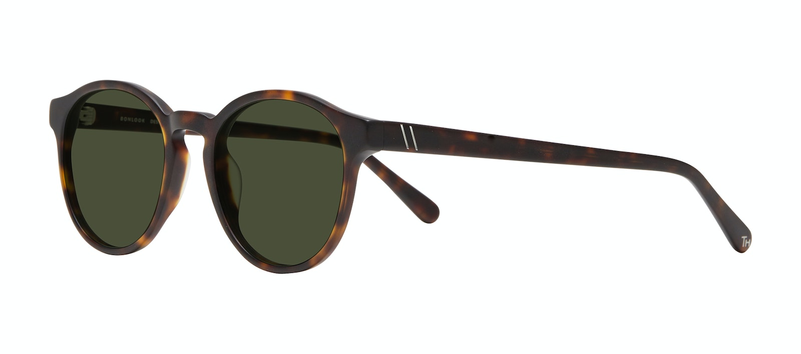 Affordable Fashion Glasses Round Sunglasses Men Aussie Matte Tortoise Tilt