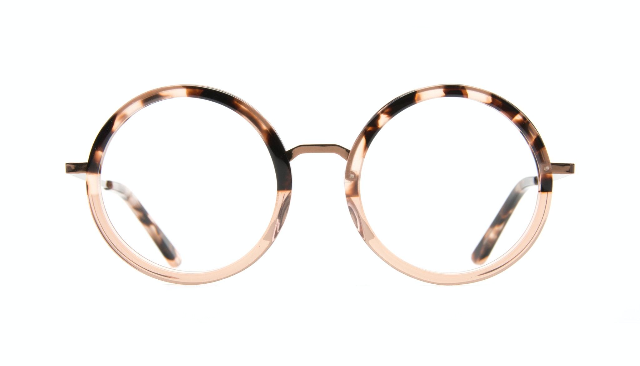 Affordable Fashion Glasses Round Eyeglasses Women Balance Rose Tortoise