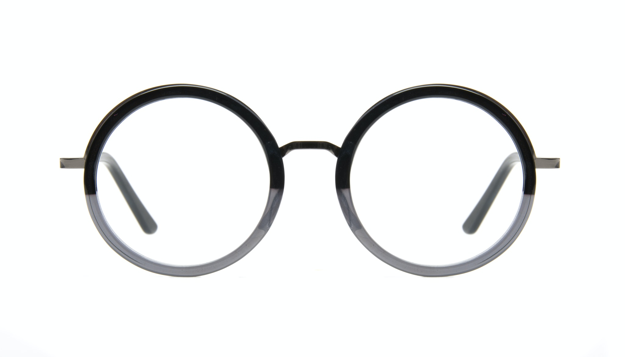 Affordable Fashion Glasses Round Eyeglasses Women Balance shadow-black