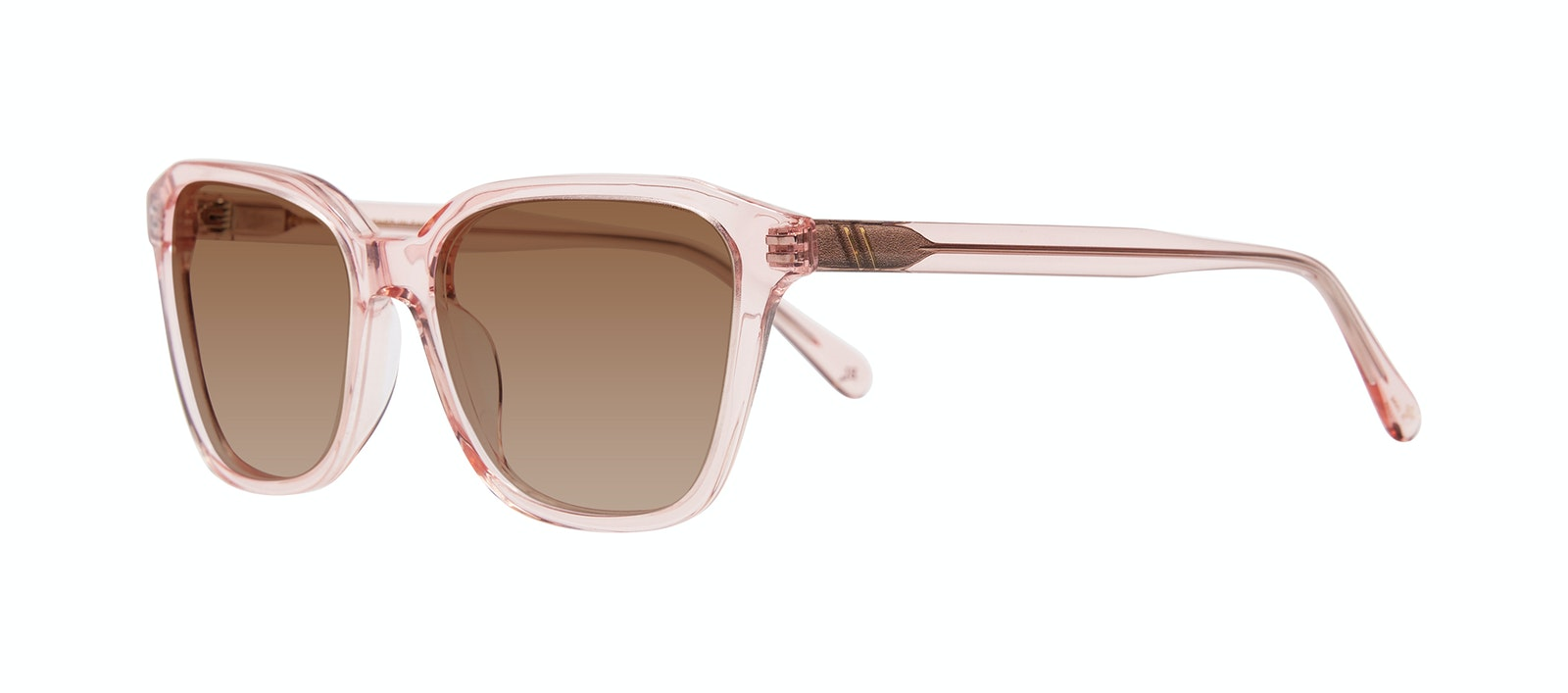 Affordable Fashion Glasses Square Sunglasses Women Basel Peony Tilt