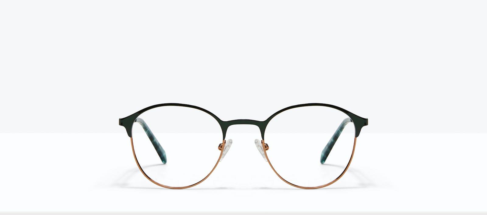 91af228e9b Affordable Fashion Glasses Round Eyeglasses Women Bay II Emeraude Front