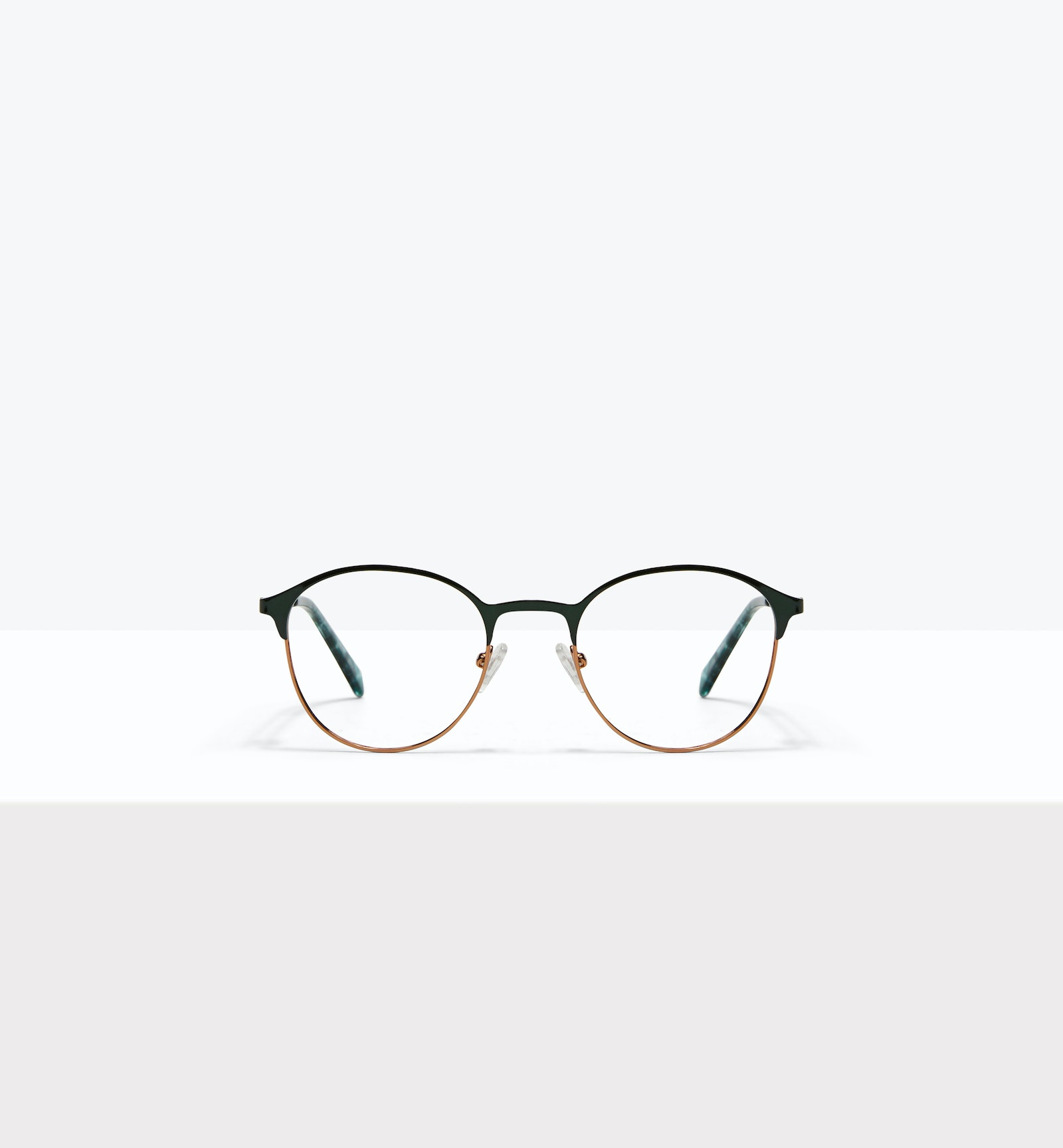 Affordable Fashion Glasses Round Eyeglasses Women Bay II Emeraude