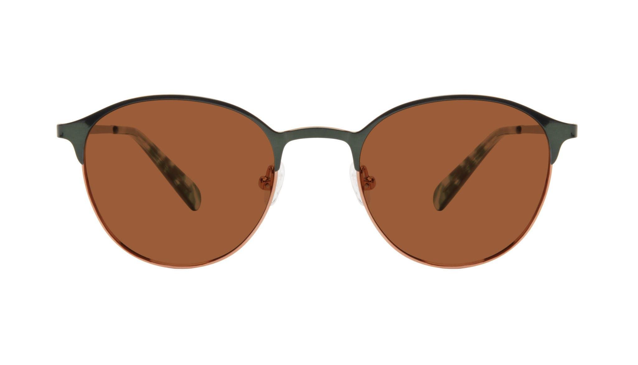 Affordable Fashion Glasses Round Eyeglasses Women Bay II Emeraude