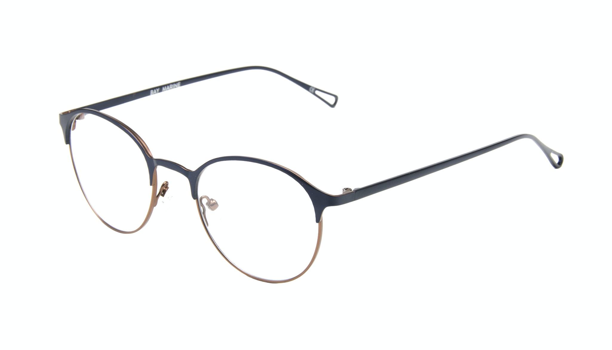 Affordable Fashion Glasses Round Eyeglasses Women Bay Marine Tilt