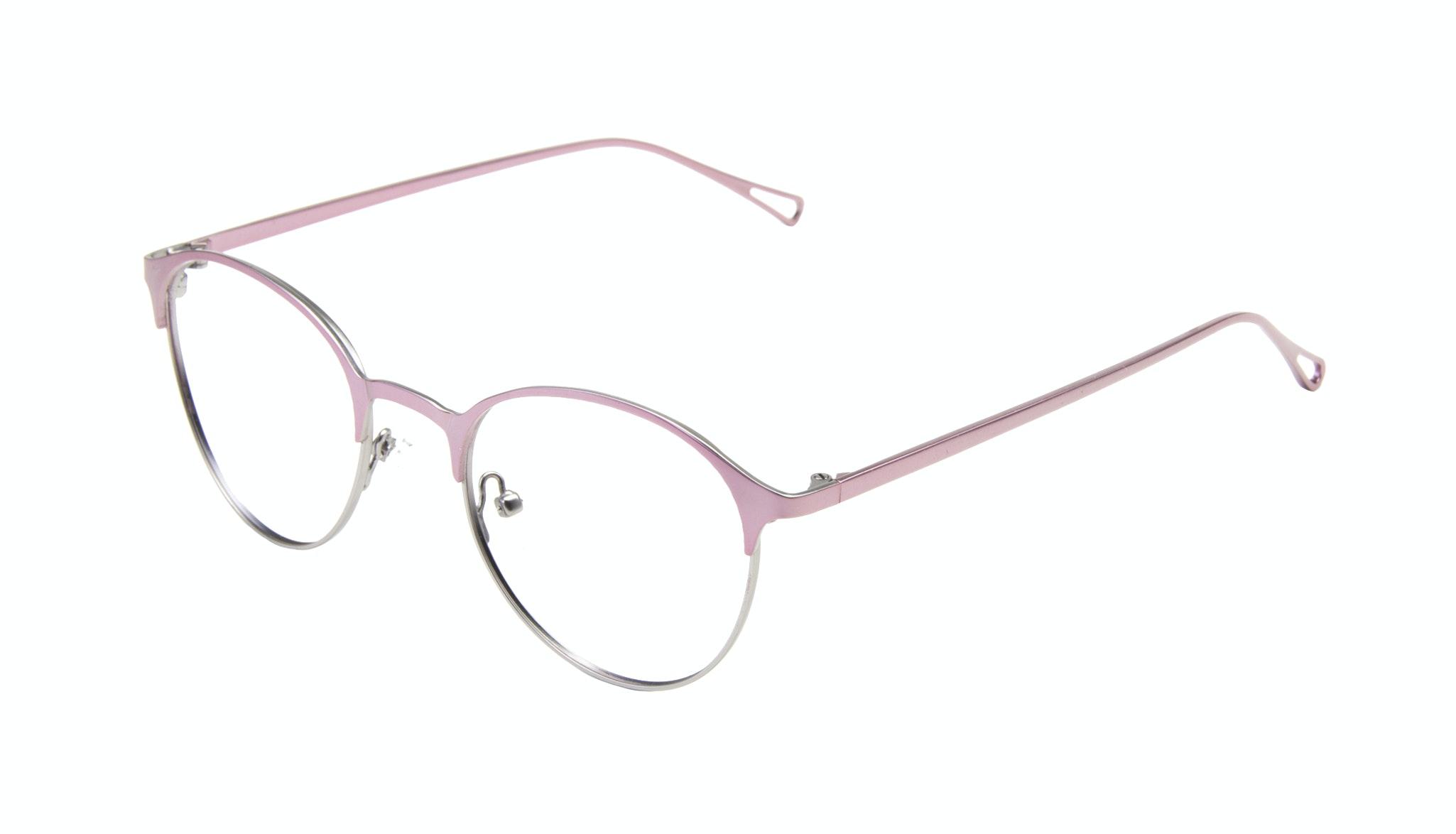 Affordable Fashion Glasses Round Eyeglasses Women Bay Shell Tilt