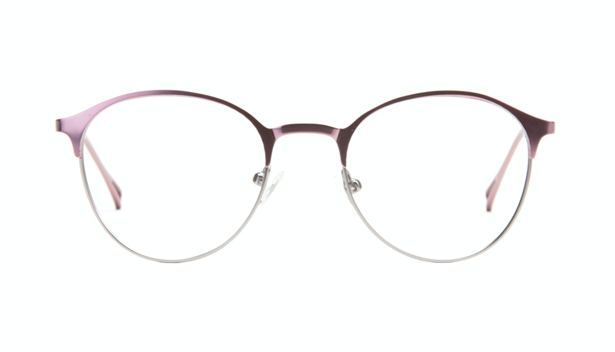Affordable Fashion Glasses Round Eyeglasses Women Bay Shell Front