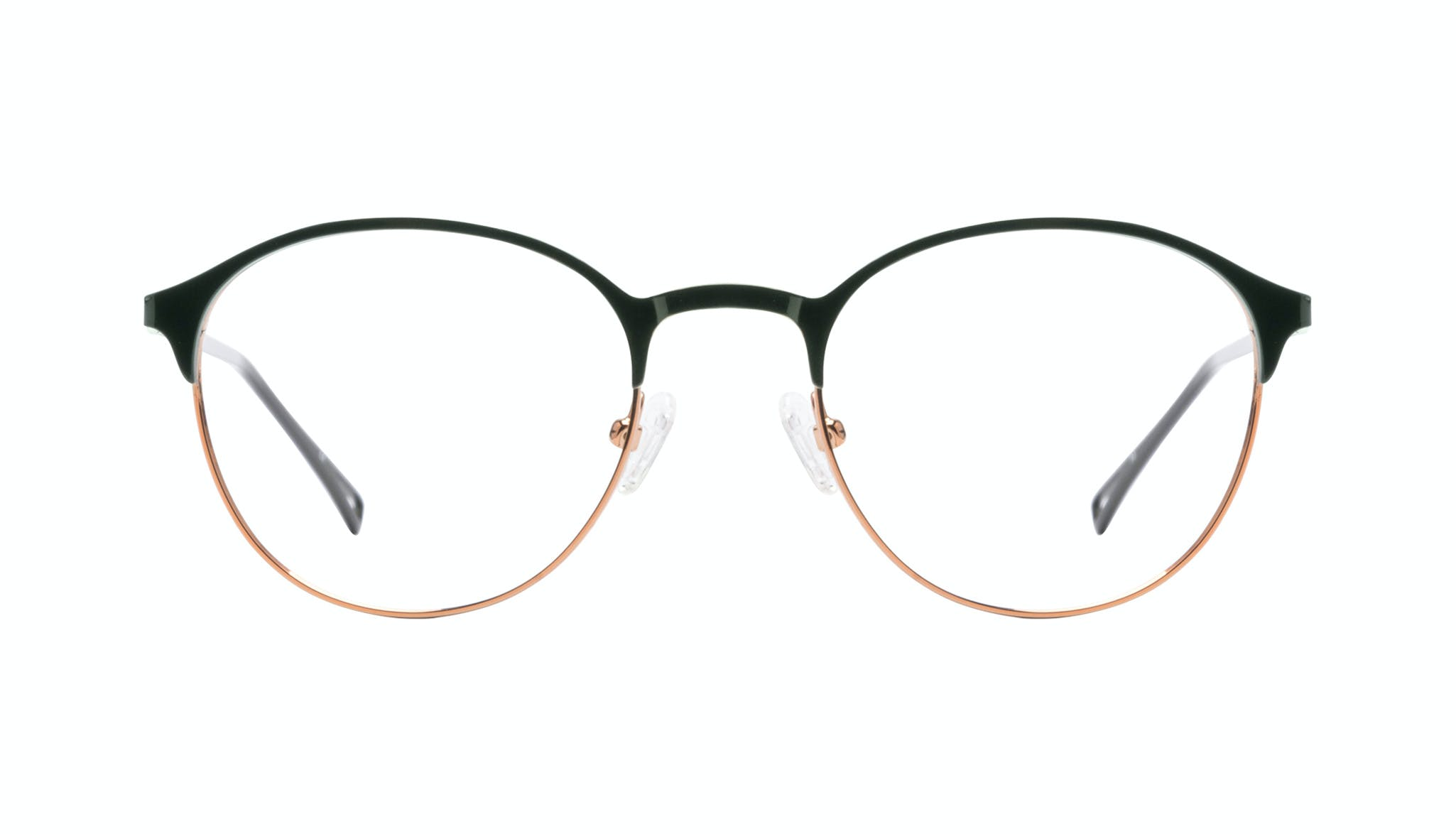Affordable Fashion Glasses Round Eyeglasses Women Bay Emeraude Front
