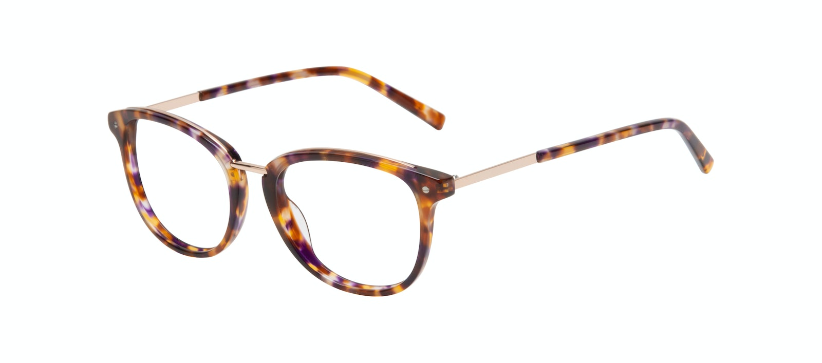 Affordable Fashion Glasses Round Eyeglasses Women Bella Petite Dark Tortoise Tilt
