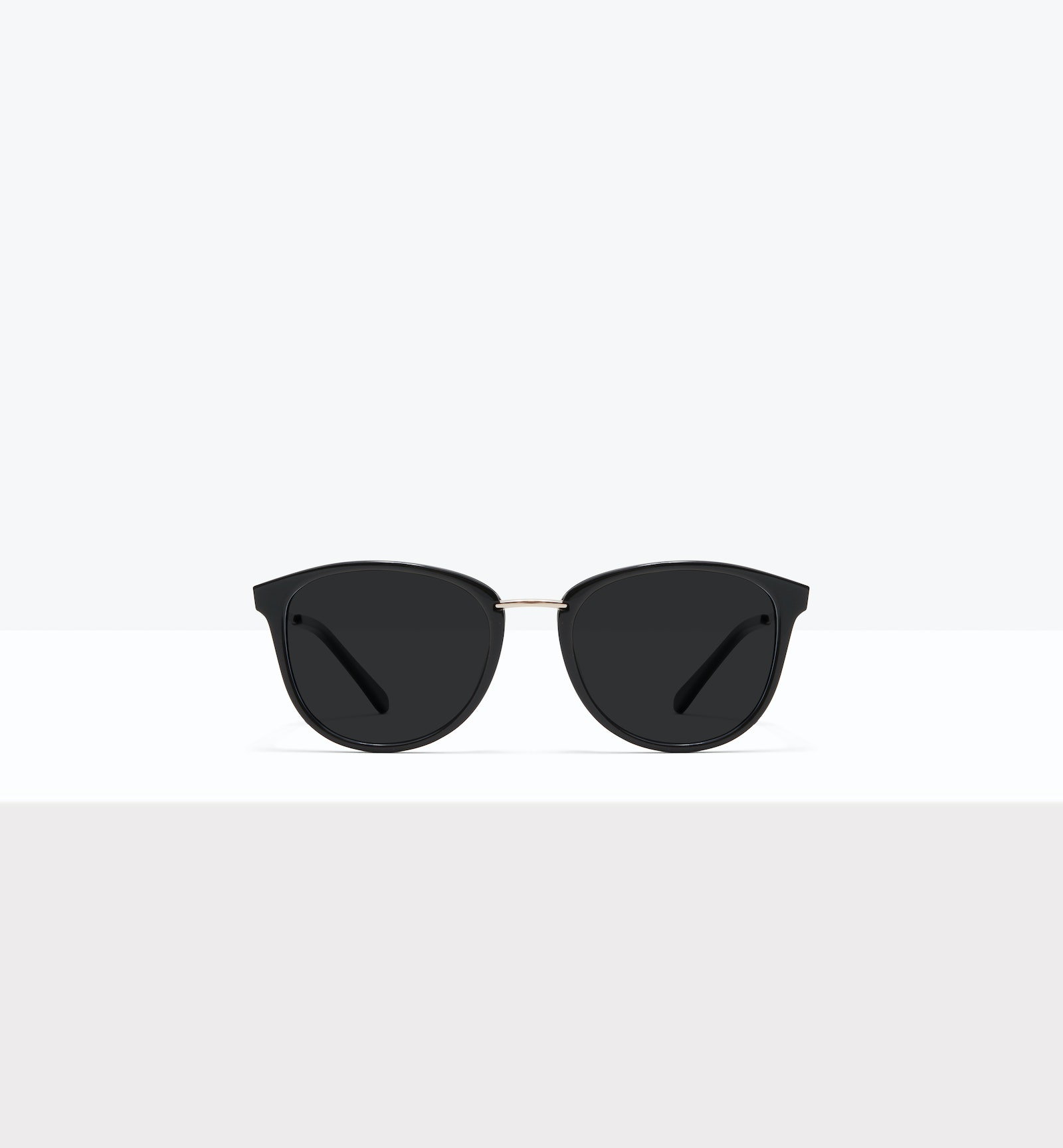 Affordable Fashion Glasses Square Round Sunglasses Women Bella M Black