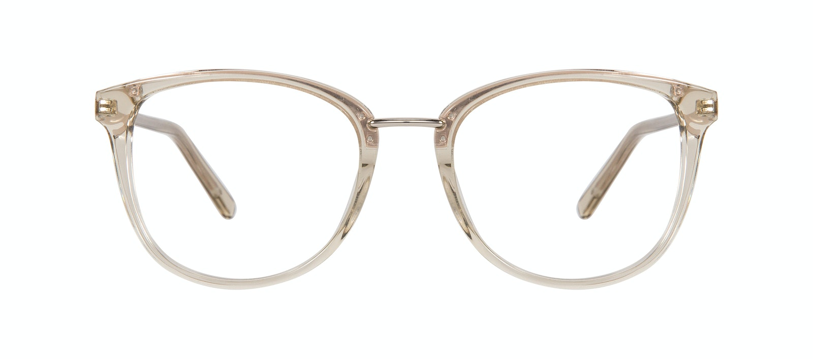 Affordable Fashion Glasses Square Round Eyeglasses Women Bella Olive Front