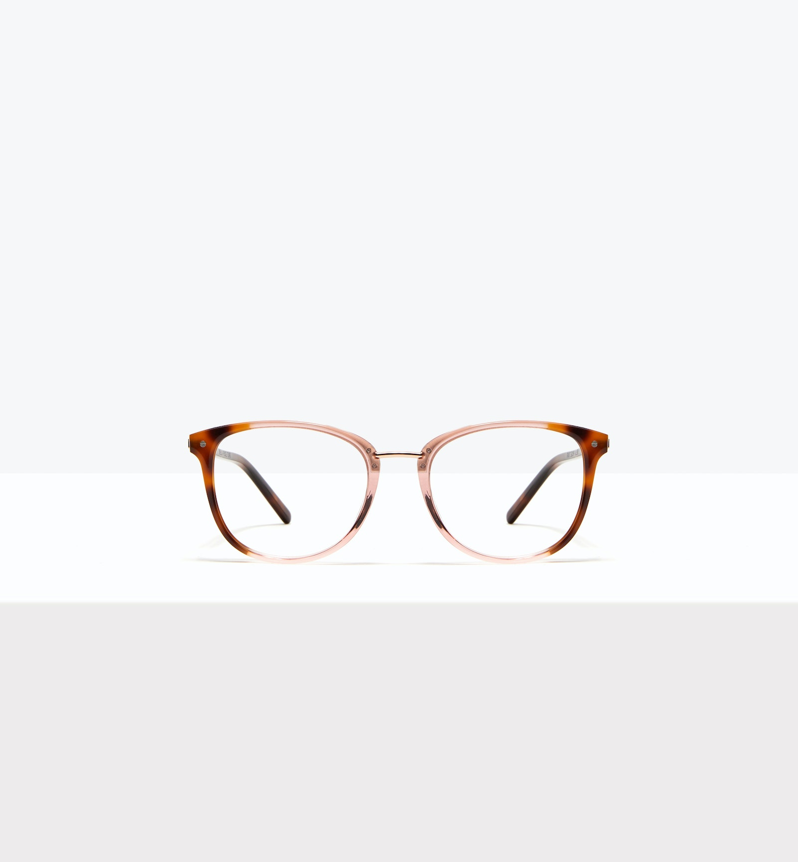 Affordable Fashion Glasses Square Round Eyeglasses Women Bella Rose Tort