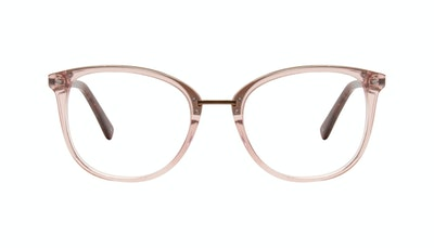 Affordable Fashion Glasses Square Round Eyeglasses Women Bella Rose Front