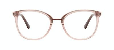 Affordable Fashion Glasses Square Round Eyeglasses Women Bella M Rose Front
