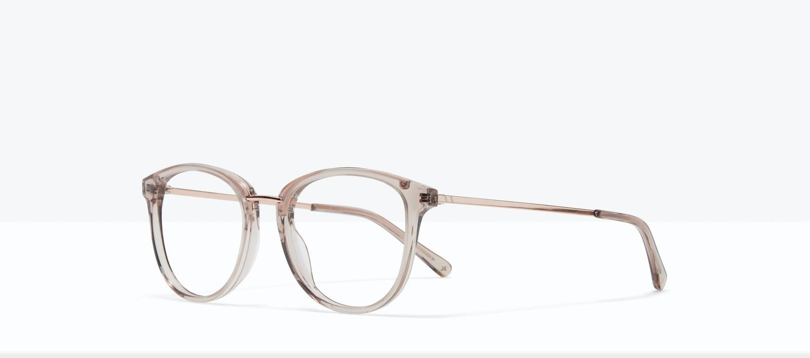 Affordable Fashion Glasses Square Round Eyeglasses Women Bella XS Sand Tilt