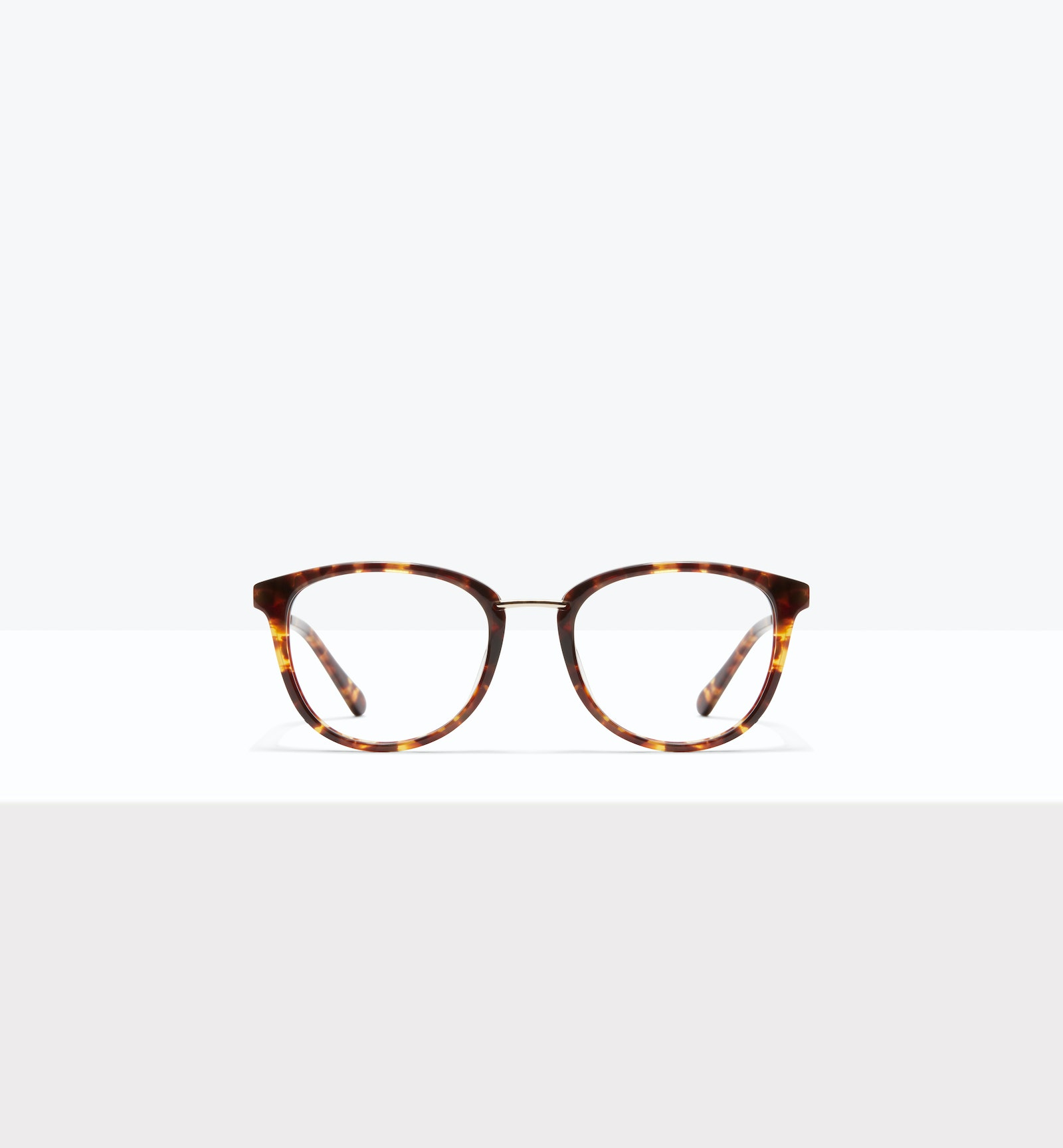 Affordable Fashion Glasses Square Round Eyeglasses Women Bella XS Sepia Kiss