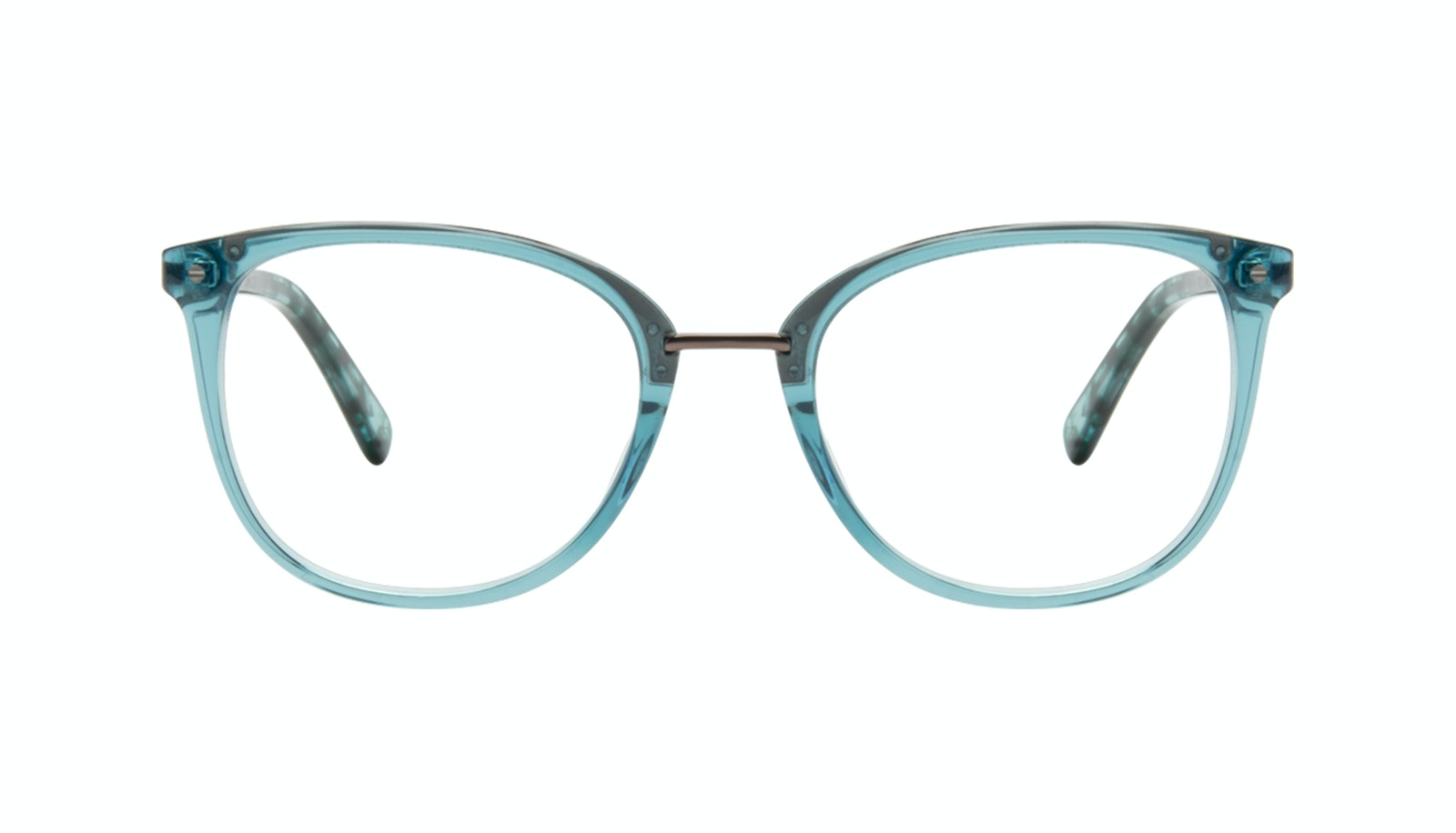 Affordable Fashion Glasses Square Round Eyeglasses Women Bella Teal