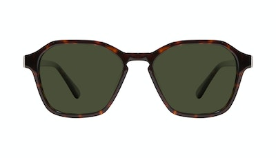 Affordable Fashion Glasses Square Sunglasses Men Birdie Tortoise Front