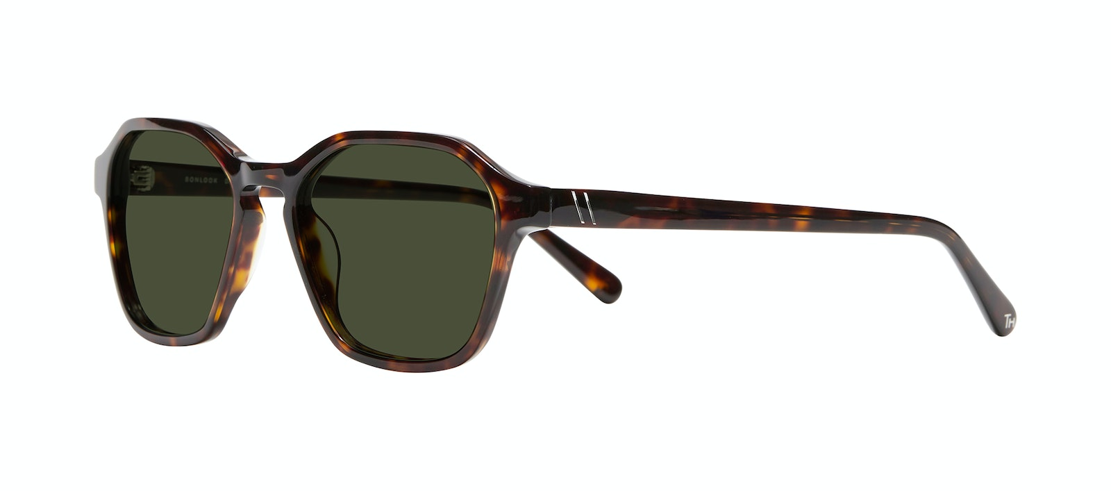 Affordable Fashion Glasses Square Sunglasses Men Birdie Tortoise Tilt
