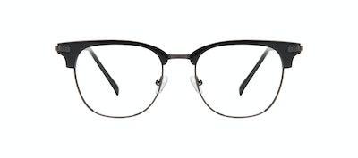 Affordable Fashion Glasses Square Eyeglasses Men Blacktie Onyx Front