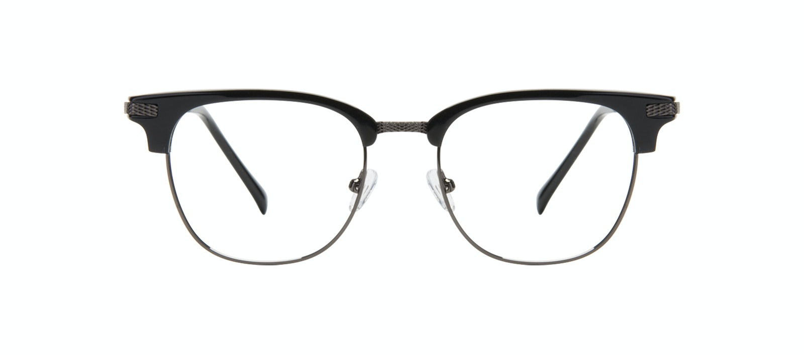 Affordable Fashion Glasses Square Eyeglasses Men Blacktie Onyx Front
