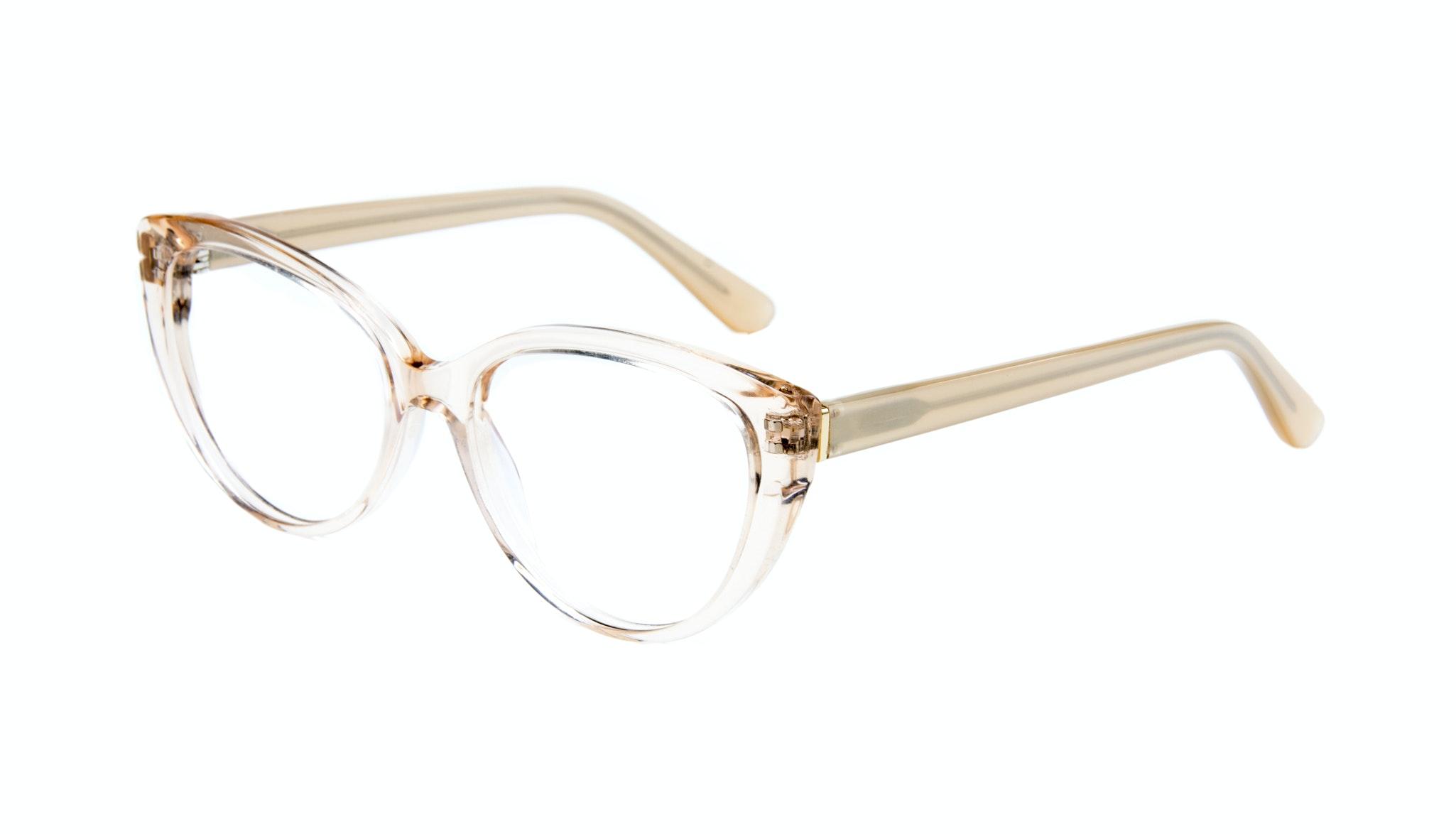 Affordable Fashion Glasses Cat Eye Eyeglasses Women Bliss Blond Metal Tilt
