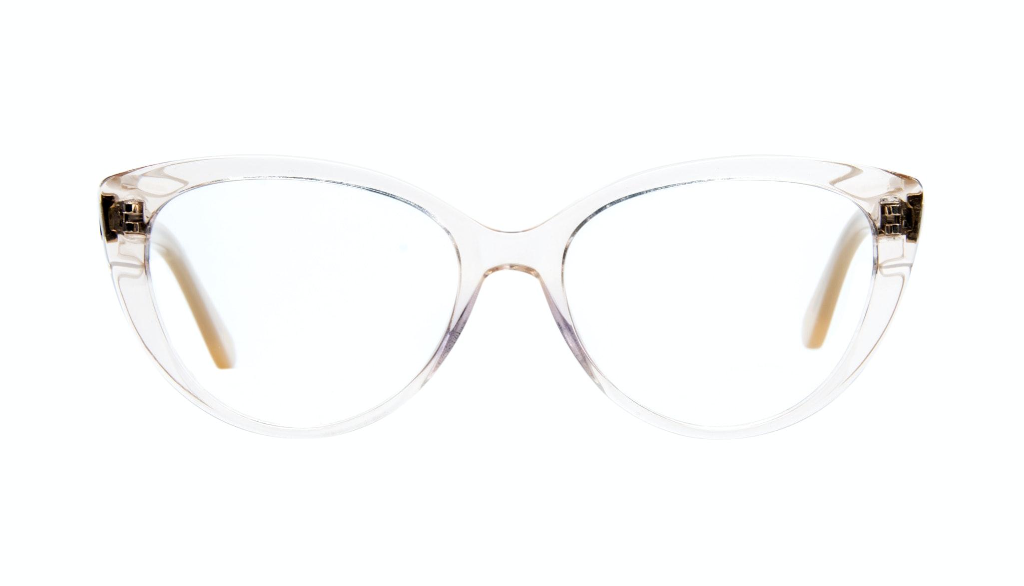 Affordable Fashion Glasses Cat Eye Eyeglasses Women Bliss Blond Metal Front