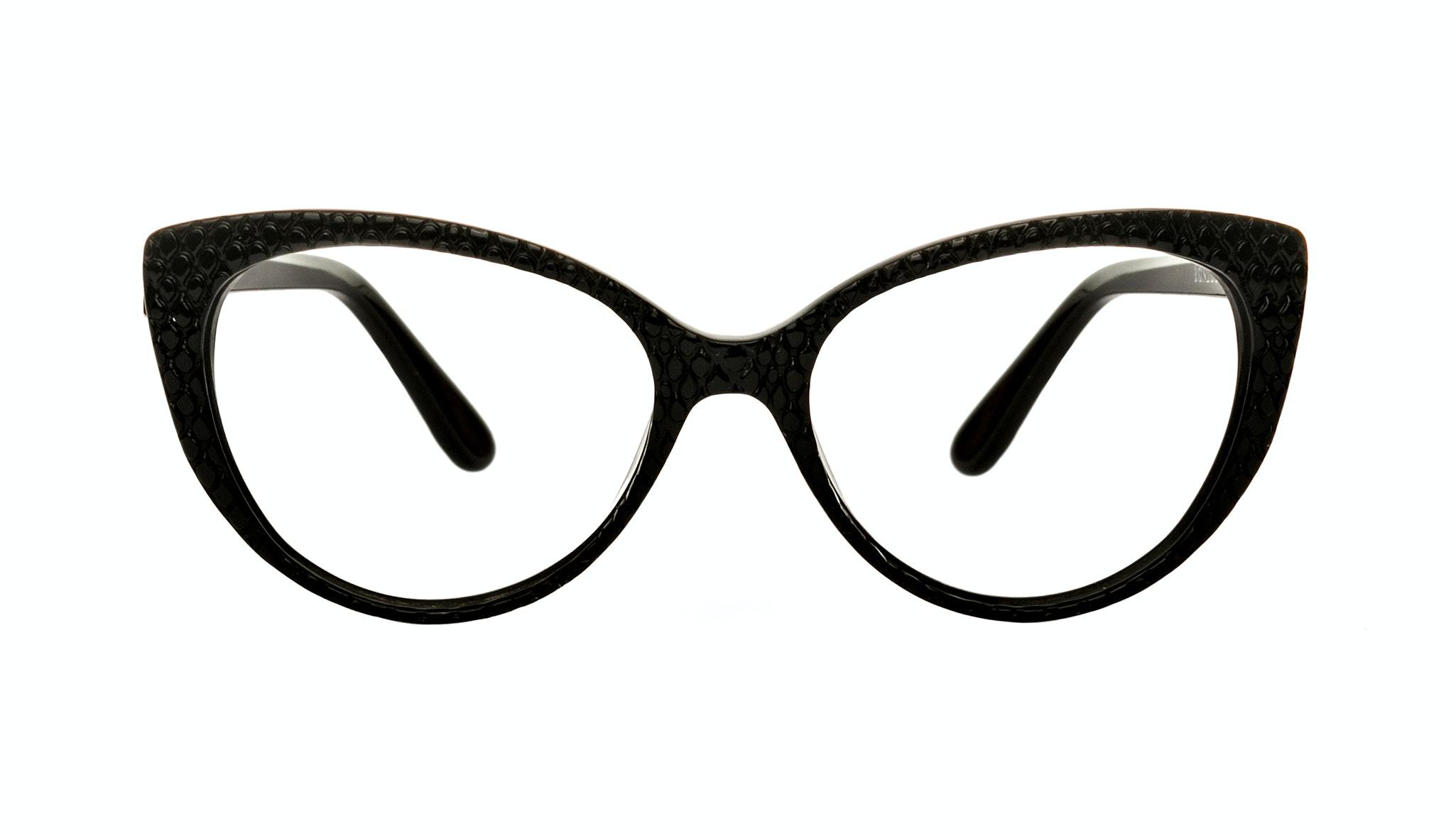 Affordable Fashion Glasses Cat Eye Eyeglasses Women Bliss Croco Front